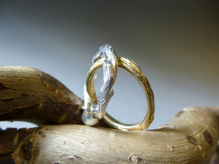 Ringe Holzoptik